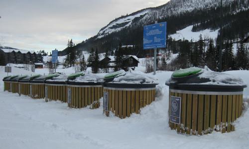På skidorter